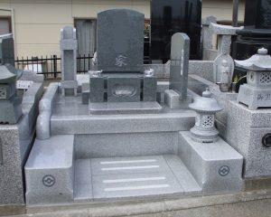 墓地施工例