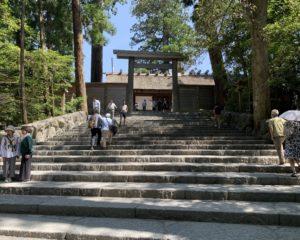 伊勢神宮内宮拝殿