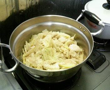 筍のラー油炒め2