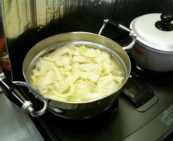 筍のラー油炒め1