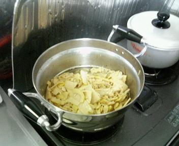 筍のラー油炒め3