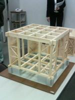 シェルタールームの模型