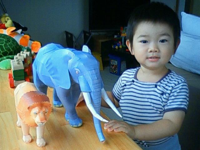 象とナガオー