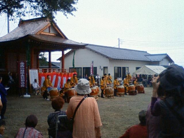 諏訪神社秋祭り