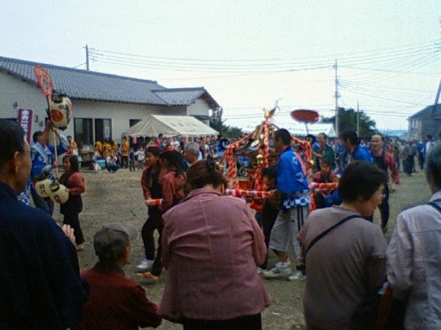 諏訪神社秋祭り2