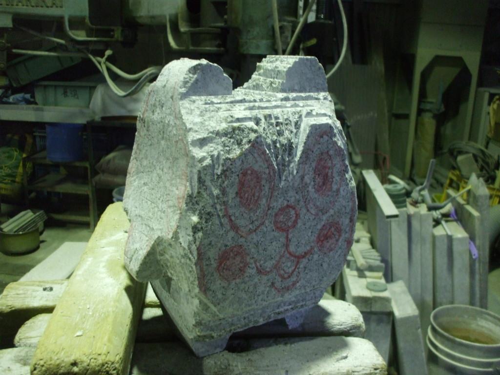 ダイアモンドグラインダーで研磨