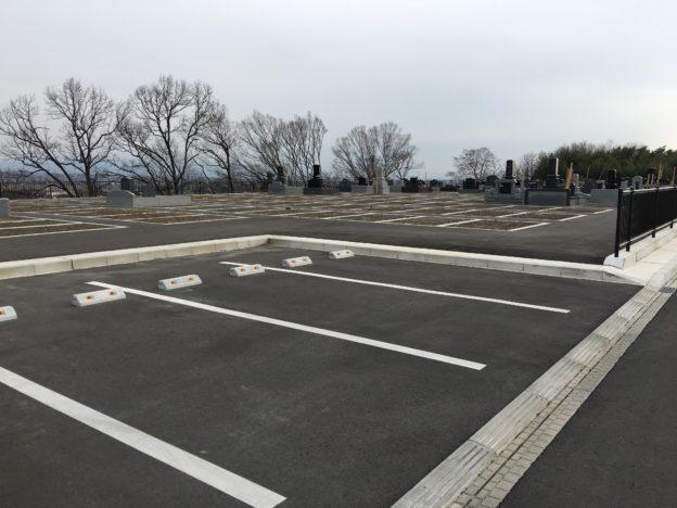 八幡霊園新区画駐車場